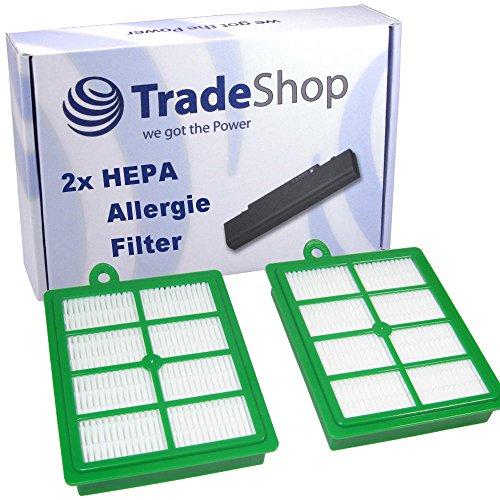 Trade-Shop 2x Ersatz für HEPA Filter...