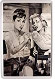 Blechschild Beautiful Tattooed Girls Tattoo Studio 20 x 30