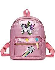 WolinTek Zaino Unicorno per Bambini, Mini Unicorn Zaino,Borsa Scuola Ragazza, Unicorn Sacchetto Di Scuola Unicorn Regalo Ragazza Zaino, Zaini Bambina per viaggi scolastici