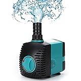 Bomba Aire de Oxígeno para Acuarios,Tranquilo Bomba Versátil y de Bajo Consumo de Energía con Adecuado para Acuarios Fuentes de Jardín Manualidades Acuáticas etc,6W*450L/H