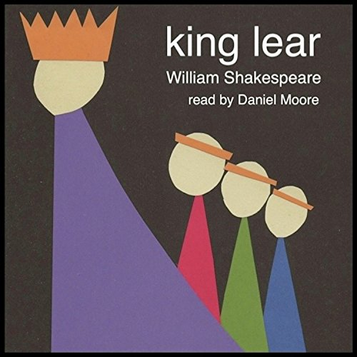 William Shakespeare's King Lear audiobook cover art