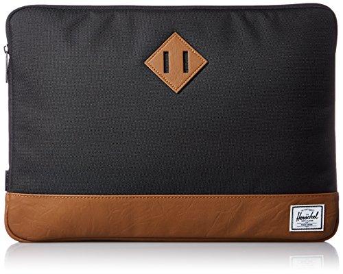 Herschel Notebook Tasche Heritage Notebook Tasche, schwarz/braun, One Size, 10056-00001-11
