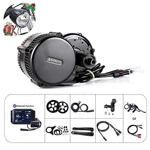 Bafang BBS01B 36V 250W / 350W / 500W Kit de Conversión de Bicicletas Eléctricas, Batería de Tubo descendente Opcional de 36 V 7,8Ah/10Ah/15,6Ah/17,4Ah, batería de Rack Trasero de 20Ah/22,5Ah