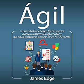 Ágil [Agile] audiobook cover art