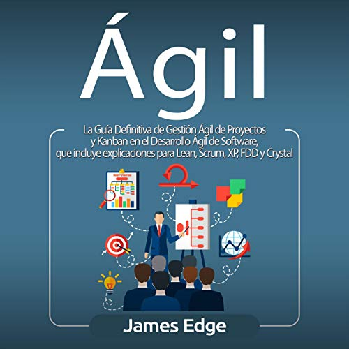 Ágil [Agile] audiobook cover art
