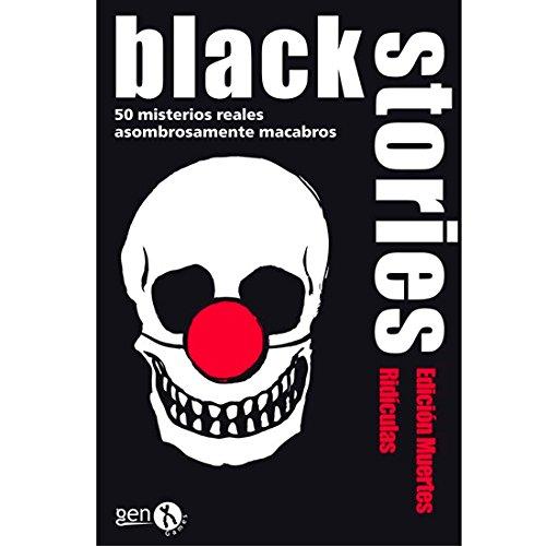 Black Stories - Muertes Ridículas, Juego de Mesa (Gen-X Games GEN028)