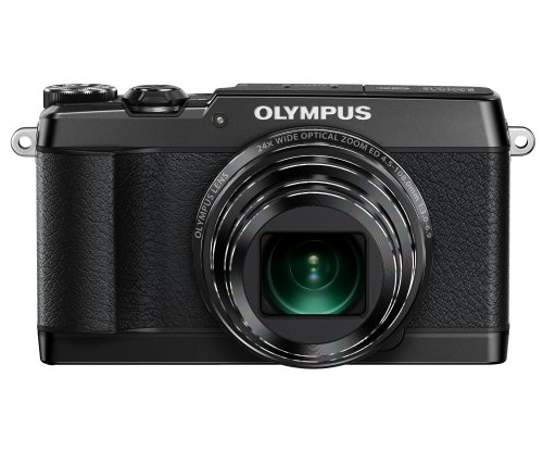 Olympus SH-1 16 MP Digital Camera (Black) - International Version (No Warranty)