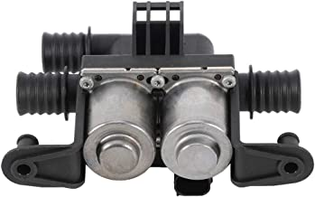 SCITOO Heater Control Valve Dual Solenoid Fits 2004-2009 BMW 525i 2006-2007 BMW 525xi 2008-2009 BMW 528i