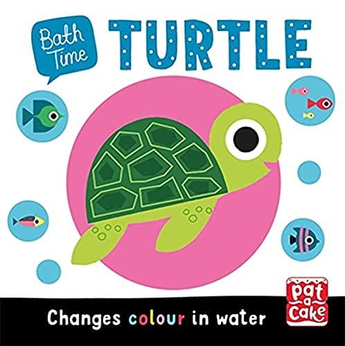 Turtle: Colour-changing bath book (Bath Time)