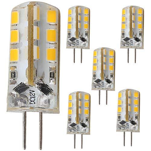 5 stuks, niet dimbare 3W G4 LED-lamp DC12V, geschikt voor inbouw in wandlamp hanglamp brandt dergelijke.