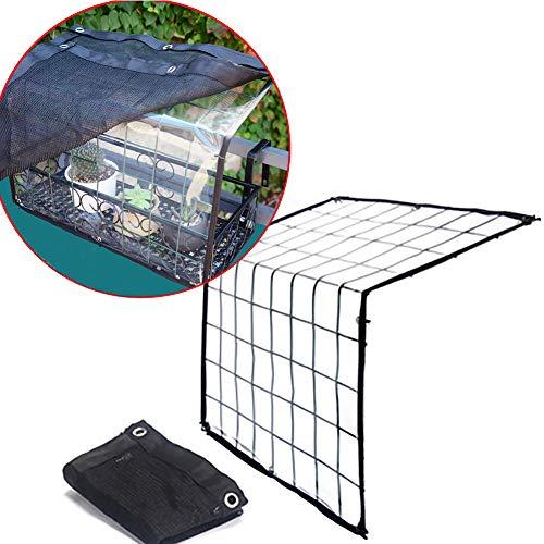 PHCLL Sonnenschutznetz Gewächshaus Balkon Baldachin Sonnenschutz PVC Regenschutz für Blumen und Pflanzen,1.6 * 0.8 * 1ft/48 * 24 * 30cm