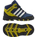 adidas AX2 Mid I, Stivali da Escursionismo Unisex – Bambini, Blu Azumis Blatiz Azubas, 17 EU