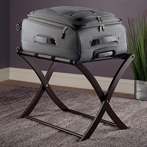 Winsome Scarlett Cappuccino Luggage Rack
