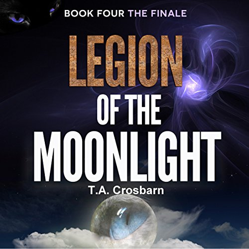Legion of the Moonlight audiobook cover art