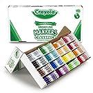 Crayola Broad Line Markers Bulk, School Supplies, 16 Bold Colors, 256 Count, Assorted, Standard