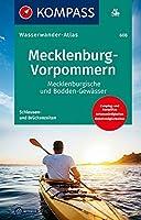 KOMPASS Wasserwanderatlas Mecklenburg-Vorpommern 1:100 000: Mecklenburgische und Bodden-Gewaesser