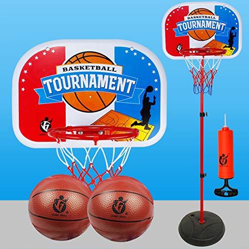 Aro de Baloncesto Baloncesto de Niños HG2872 Estante Puede Levantar Interior y Exterior del Tiro del bebé del Marco de Baloncesto Boy Toy Tablero portátil (Size : 1.5m)