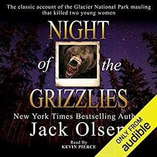 Night of the Grizzlies audiobook cover art
