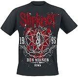 Slipknot Iowa Star T-Shirt schwarz L