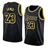 Herren Basketball Trikot # 23 NBA Lakers bestickte Stoff Swingman Jersey Tops