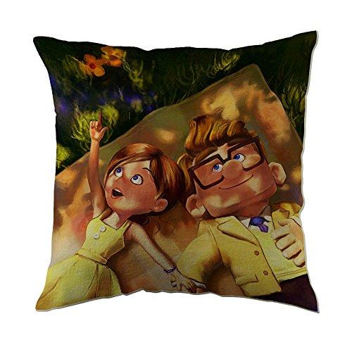 Disney Pixar Carl and Ellie Up - Fundas de almohada (45,72 x