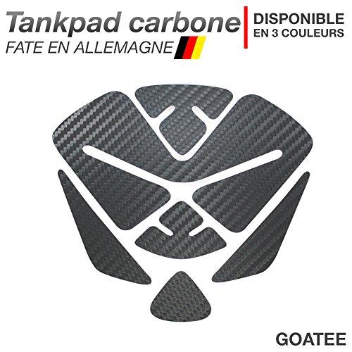Motoking Tankpad Carbone Goatee - réservoir de la Moto et de la Protection de la Peinture, Universel - Disponible en 3 Couleurs - Anthracite