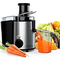 KOIOS 800W 304 Stainless Steel Filter Centrifugal Juice Extractor