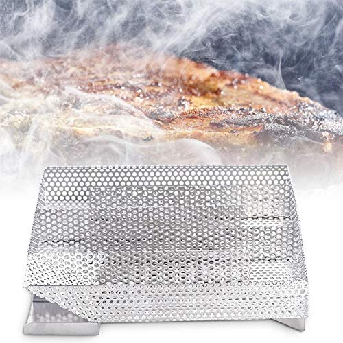 For Sale! 23 S Smoke Generator BBQ - Stainless Steel Grill Cooking Tools, Smoker Grill