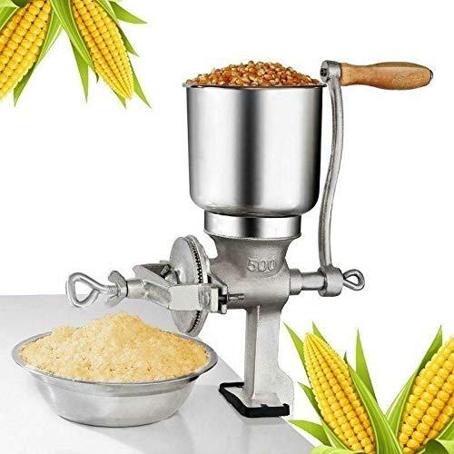 Manual Corn Grinder Flour Maker Wheat Grain Nut Mill Grinder