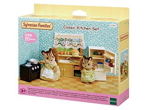 Sylvanian Families 5289 Klassisches Küchen-Set - Puppenhaus Einrichtung Möbel