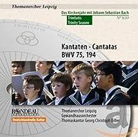 J.S.バッハ:三位一体のカンタータ集(Kantaten · Cantatas BWV 75, 194)