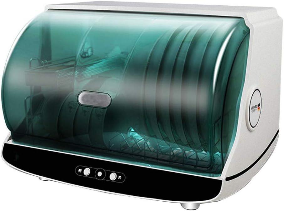 WZLJW Lavavajillas Househol, Mini Sall Desinfección CupbArd3 FilAdjusAbleDAiAble/desinfección/Secado ggsm