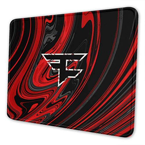 Faze Clan Mouse Pad, Used for Console and Home Games, Washable Rubber Mouse Pad7.9 X 9.5 in