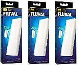 Fluval A222 Lot de 2 filtres en mousse - accessoires de filtre - Compatible avec filtres 204/205/206 304/305/306 (3 Packs)