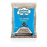 Animal Dreams Cat's Choice Natural Wood Cat Litter - 30ltr