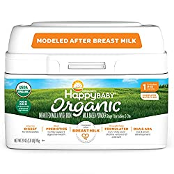 Happy Baby Organic Infant Formula Milk