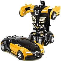 Juguete para niños Transformers Robot Car Dual Mode Giratorio 360 ° Coche