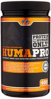 ALR Industries Humapro Tabs Protein Matrix Formulated for Humans Waste Less Gain Lean Muscle 1087mg 450 Tabs