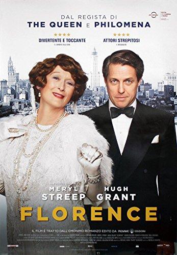 Póster de la película Florence Foster Jenkins - Versión en Italiano (70cm x 100cm) + 1 Paquete de tesa Powerstrips® (20 Tiras)