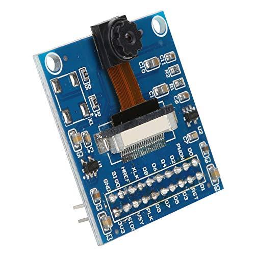 Kameramodul mit Adapter Development Board, STM32 SCM Hochempfindliche Kameramodulkamera für Ardui-no / Raspberry Pi, Unterstützung der SCCB-Bussteuerung für einfache Bilderkennung, Fahrzeugverfolgung