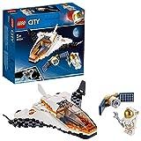 LEGO-City La mission d'entretien du satellite Enfant 5 Ans et Plus, Jouet de Construction, 84 Pièces 60224