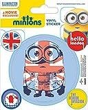 1art1 Minions - Hello London, The Minion Invasion Poster-Sticker Tattoo Aufkleber 12 x 10 cm
