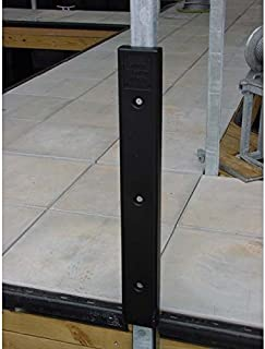 K & R Manufacturing AMRK-H-20W Notched Cushion Dock Post Bumper with 2