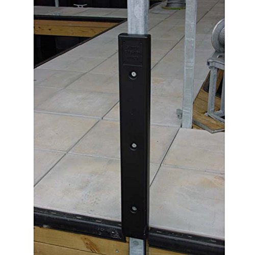 K & R Manufacturing AMRK-H-20W Notched Cushion Dock Post Bumper