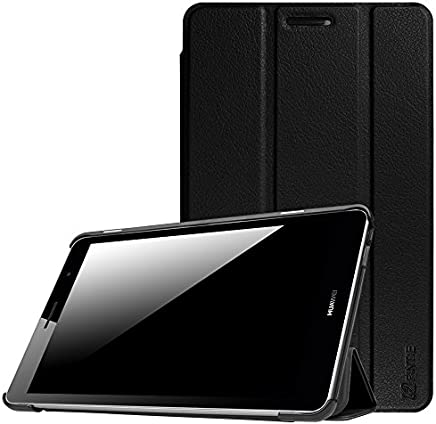 """Huawei MediaPad T3 8-Inch Case, Fintie Super Thin SlimShell Lightweight Stand Cover for Huawei MediaPad T3 8"""" Tablet, Black"""