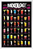 Pyramid America Mixology Cocktail Mixed Drinks Chart Poster