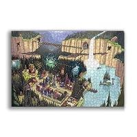 ジグソーパズル Gravity Falls パズル 1000ピース大人の子供の教育減圧ゲーム家の装飾レジャーエンターテインメント楽しいパズルアニメ漫画パズル最高の贈り物