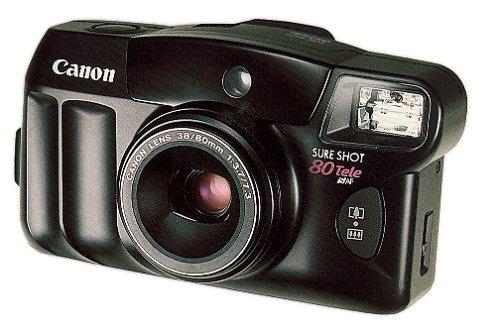 Canon Sure Shot Tele 80 35mm Camera