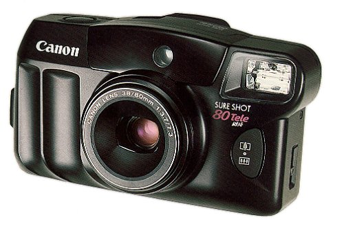 Canon Sure Shot Tele 80 35mm Camera
