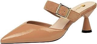 BeiaMina Women Fashion Slipper Wine Glass Heel